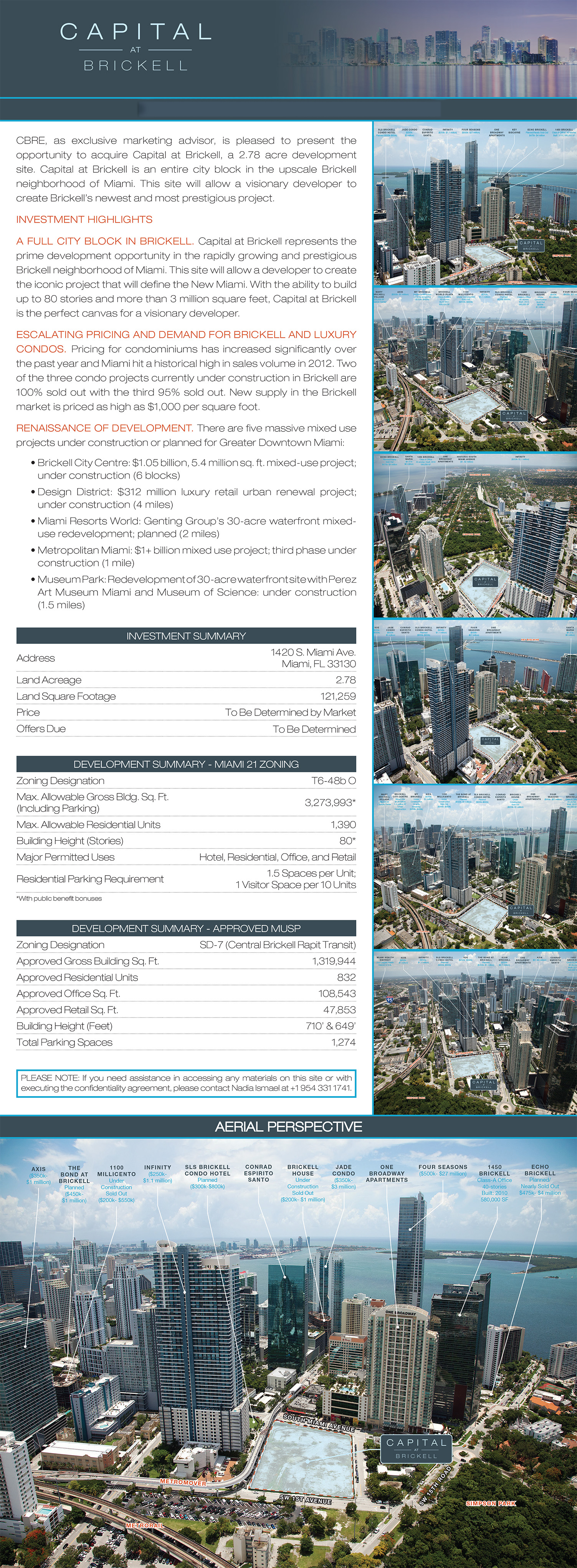 The great new world discussion thread page 103 - This Property Will Probably Sell Soon As It Is One Of The Last Large Parcels Of Land Left In The Brickell District With Close Access To Metromover